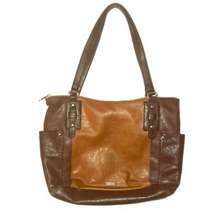 Relic Shoulder Bag Handbag Purse Brown Black
